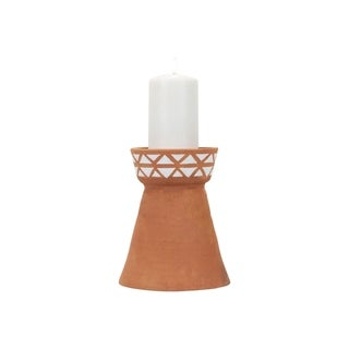Terracotta Candle Holder Large