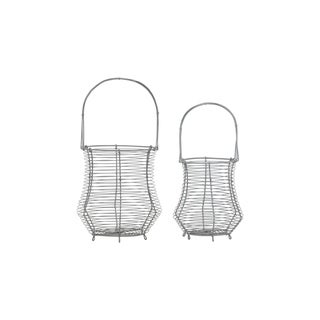 Swivel Baskets, Set of 2