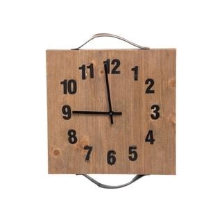 Pieced Wood Wall Clock