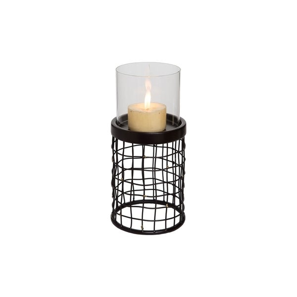 Metal Candle Holder Small
