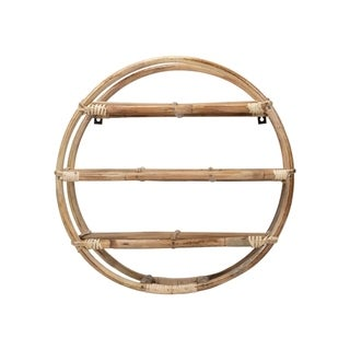 Round Cane Shelf