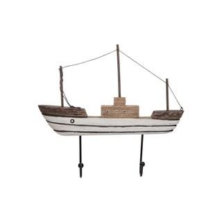 Wooden Sailboat Wall Hook