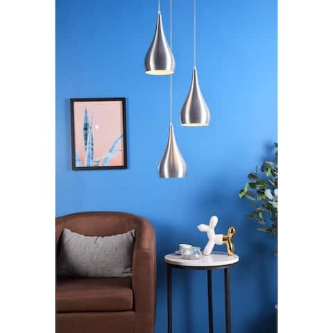 Norri Collection 3-Light Pendant - 11.5/14.5