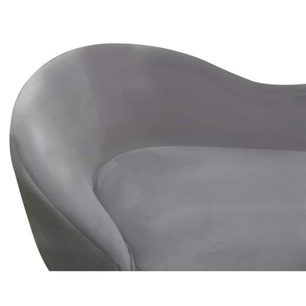 Phenomenal Shop Best Master Furniture Vivian Curved Velvet Loveseat Evergreenethics Interior Chair Design Evergreenethicsorg