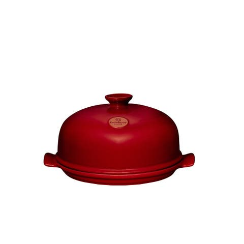 Emile Henry Burgundy - Bread Cloche - 13""