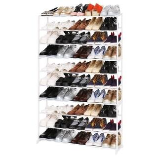 Home Portable 4/7/10 Tier Shoes Rack Stand Shelf Shoes Organizer Storage
