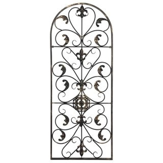 """Link to 41.5"""" Retro Decorative Arch Wall Art Victorian Style Iron Ornament Vintage, Holiday Decorations, Christmas Wall Art Similar Items in Outdoor Decor"""