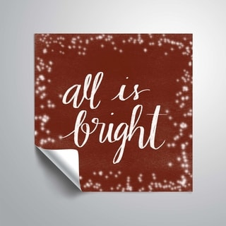 ArtWall All is Bright Removable Wall Art Mural