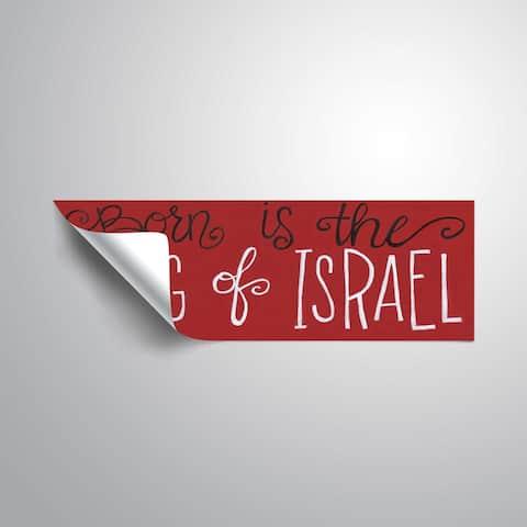 ArtWall King of Israel Removable Wall Art Mural