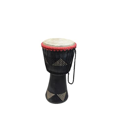 Handmade Loud Djembe Drum (Ghana) - N/A