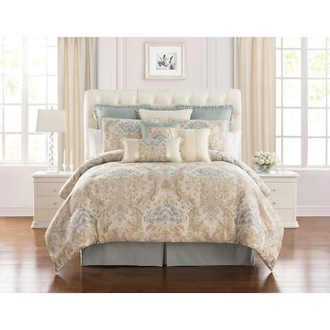 Marquis by Waterford Warren Multicolor 4PC Comforter Set