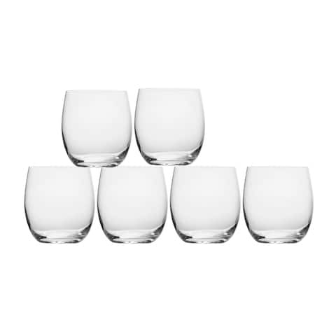 Mikasa Stiletto Double Old Fashioned, Set Of 6,13.75-Ounce