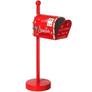 Regency Christmas Santa's Mailbox Red
