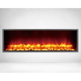 Strick & Bolton Lehto Built-in 44-inch LED Electric Fireplace