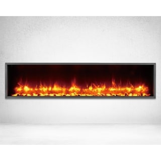 Strick & Bolton Lehto Built-in 55-inch LED Electric Fireplace