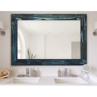 Porch & Den Pelham Ocean Blue Mirror