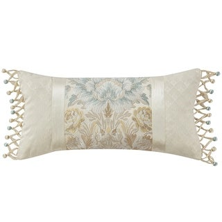 """Marquis By Waterford Warren Multicolor 11""""X22"""" Dec Pillow"""