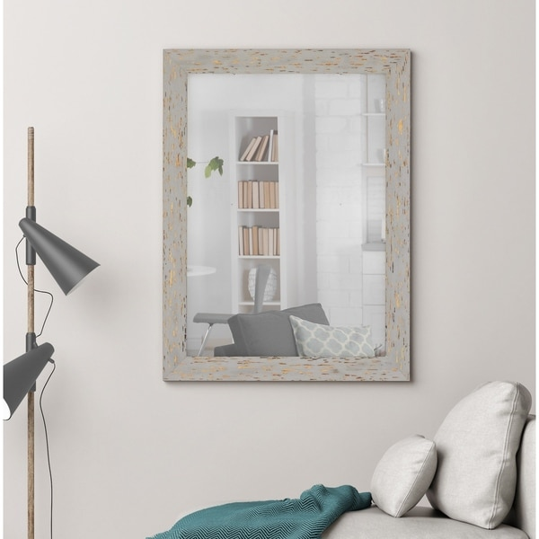 Hitchcock Butterfield Cabana Gray Mirror