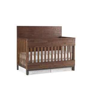 ED Ellen DeGeneres Greystone 4-in-1 Convertible Crib, Hewn Brown