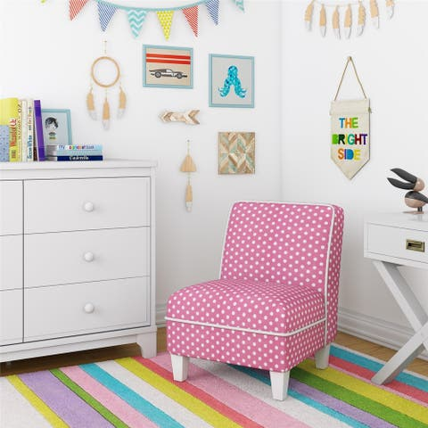 Avenue Greene Kira Kid Size Slipper Chair