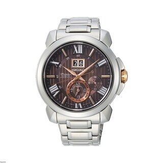 Link to Seiko Men's SNP157 Premier Stainless Steel Watch Similar Items in Men's Watches