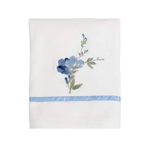 Croscill Charlotte Floral Embroidered Bath Towel