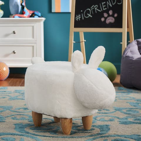 iQ Friends Bunny Ottoman by iNSPIRE Q Junior