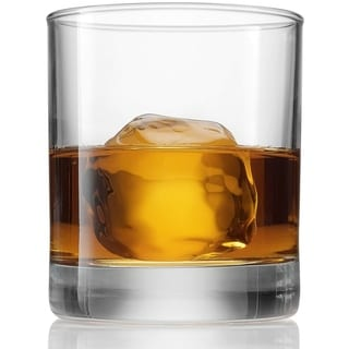 Link to Bormioli Rocco Old Fashioned Whiskey Glasses - 8.5 Ounce - (6 Piece Set) classic Design Weighted Bottom, Bar Glass Similar Items in Glasses & Barware