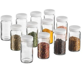 Link to Small Glass Mason Jars 4 Ounce Mini Jars Plastic Airtight Lid, Crafts, Spices, Food Storage, Wedding favors, (12 Pack) Similar Items in Kitchen Storage