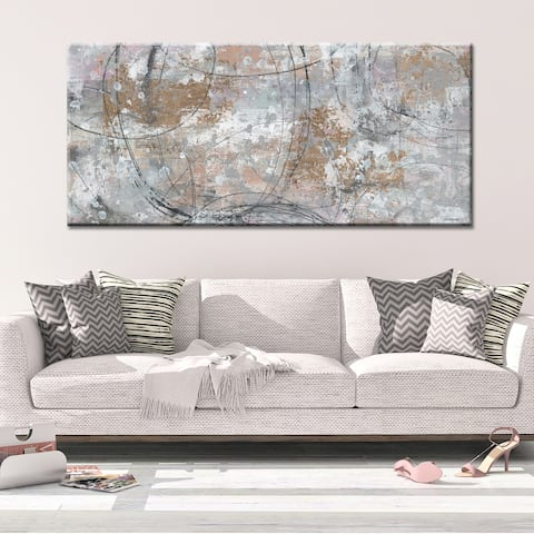 MUCH TO DO Abstract Gallery Wrapped Canvas b y Norman Wyatt Home
