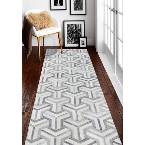 Cameron Contemporary Hand Stitched Area Rug