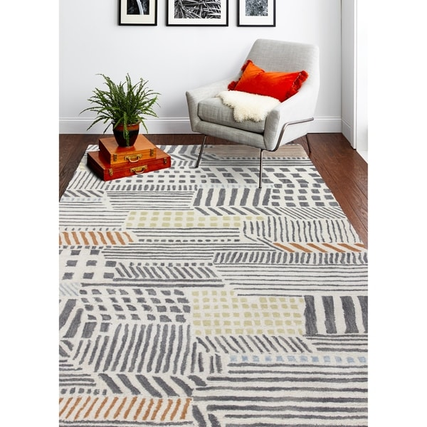 Hand Tufted Tom River Rug. Opens flyout.