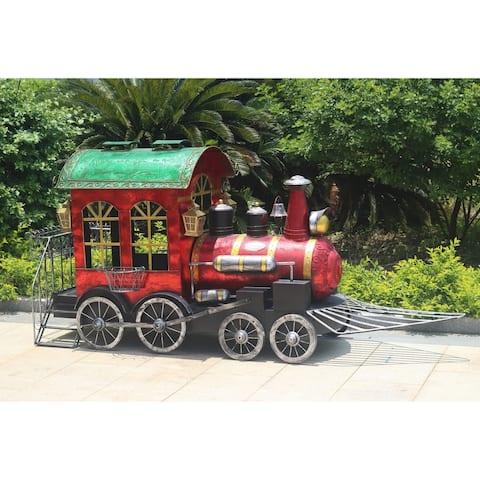 "Medium Christmas Train ""Valiko"" (Plant Stand)"