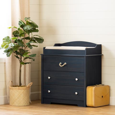 South Shore Navali Changing Table with Drawers - N/A