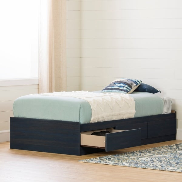 South Shore Navali Mates Bed with 3 Drawers. Opens flyout.