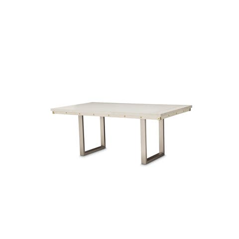 Menlo Station 76-inch Eucalyptus Rectangular Dining Table