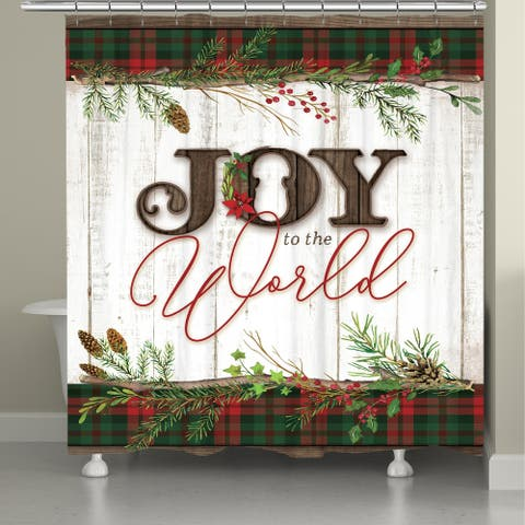 Holiday Joy Shower Curtain