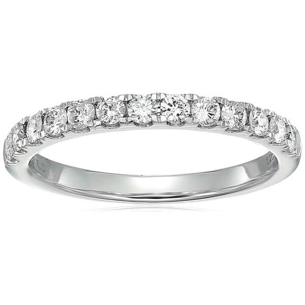 b1c2d0886d162 Vir Jewels 1/2 cttw Certified I1-I2 Diamond Wedding Band 14K White Gold H-I