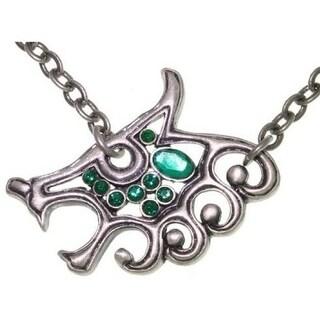 Celtic Wolf Pewter Unisex Necklace