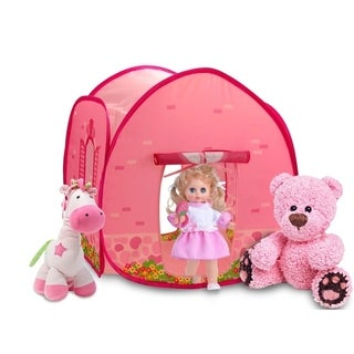 GigaTent Mini Summer Chalet Toy Doll House Tent