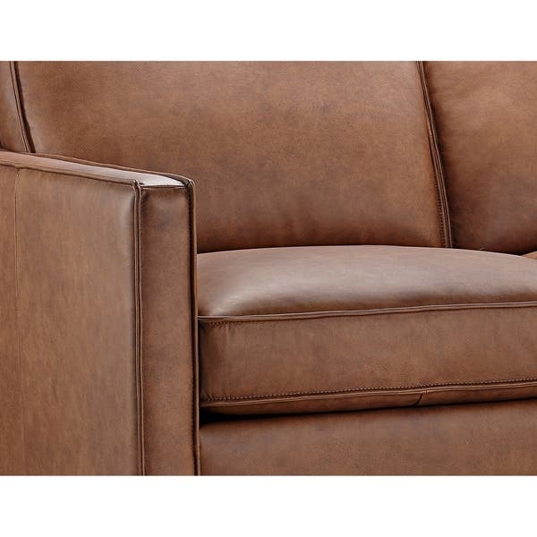 Peachy Shop Olney Leather Sofa Chaise Right Arm Facing With Wood Beatyapartments Chair Design Images Beatyapartmentscom