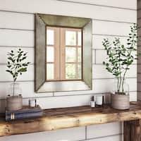 Glenan Farmhouse Wall Mirror - N/A