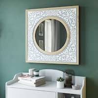 Daria Square Wall Mirror - N/A