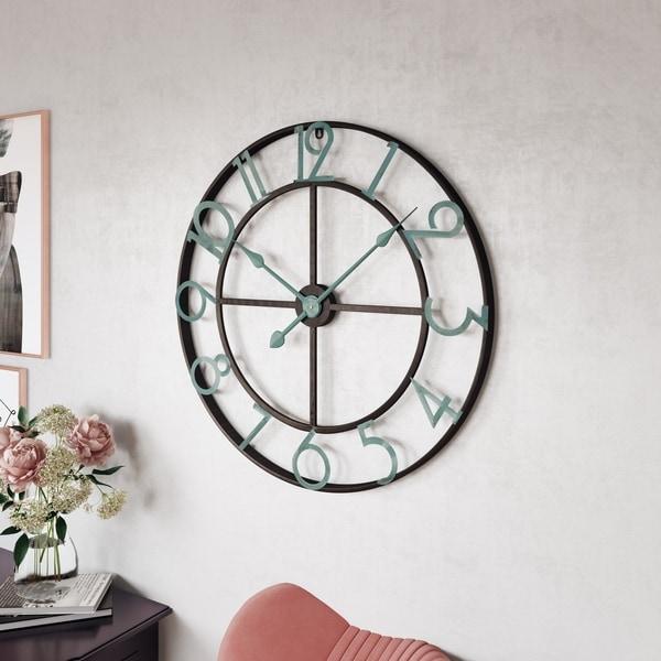 Makel Large Wall Clock - N/A
