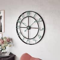 """Makel Large Wall Clock - 31.5""""H x 31.5""""W x 2""""D"""