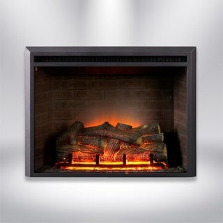 Strick & Bolton Forde 32-inch Electric Fireplace Insert
