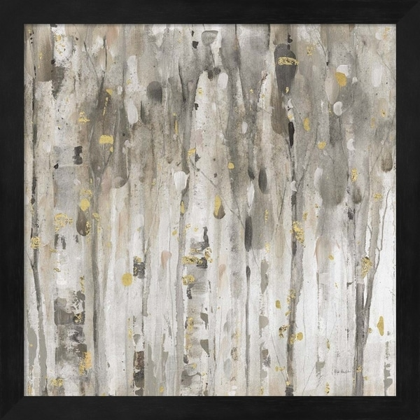 Lisa Audit 'The Forest III Neutral' Framed Art