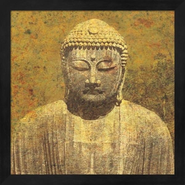 Wild Apple Portfolio 'Asian Buddha Crop' Framed Art