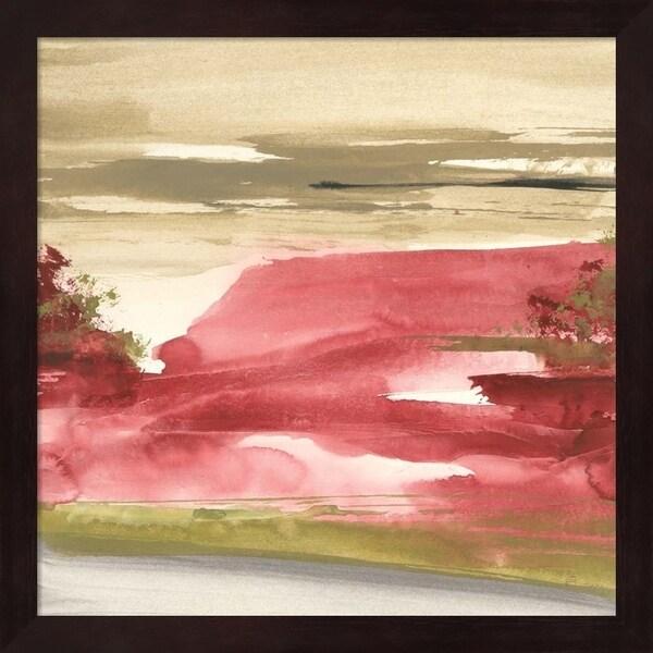 Chris Paschke 'Red Rock I' Framed Art