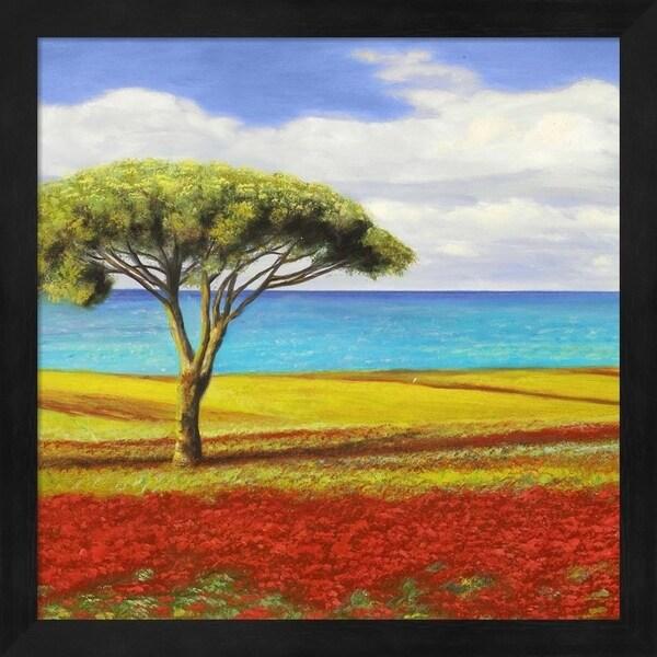 Angelo Masera 'Mediterraneo I' Framed Art
